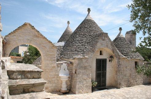 trulli alla Contrada Concolino - Alberobello - Puglia